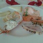 морепродукты и сыры