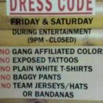New Dress Code