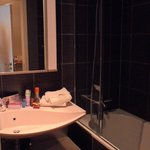 Toilet, spotless and neat!