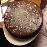 Birthday cake surprise