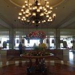 hotel lobby (entrance)