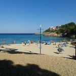 plage font de la cala partagée avec 2 autres hôtels
