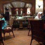 inilah suasana Resto lantai ground di Hotel Melia Purosani Jogyakarta