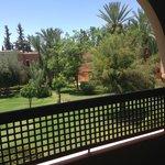 vue à partir du balcon