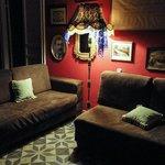 Il soggiorno/spazio comune