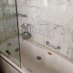 bad en douche
