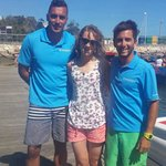 Christiano and Christophe the excellent crew members ��