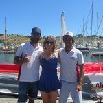 Our lovely parasailing crew members!!! ��