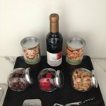 Suite - food selection from the minibar