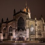 St. Giles Cathedral just before Mid-Night