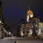 St. Giles Cathedral along the Royal Mile
