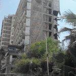 Hotel bombarded