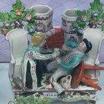 Old English Ceramic Sculpure