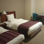 Two large single beds