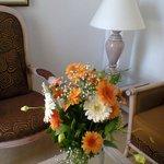 fleurs dans la chambre