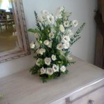 fleurs dans la chambre pour mon anniversaire