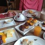 Breakfast!!! Wow!!!