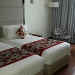 Room modernly decorated