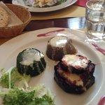 Tortini vegetali (spinaci, funghi e melanzane)