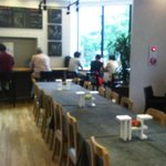 Dining area at Monsieur Itoh
