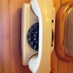 Retro-Telefon mit Wählscheibe :)