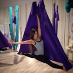 Photoshooting for Aerial Yoga