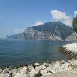 vista del lago di Garda