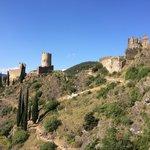Vu du 1er château