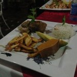 Platos principales de la cena