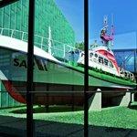 Der Seenotkreuzer Paul Denker - von März bis Oktober geöffnet