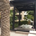 cabana at a pool area