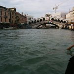 Grand Canal on gondola