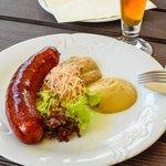 The venison sausage