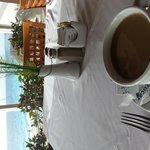 view from buffet restaurant