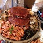 Delicious Crab Platter.