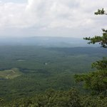 View from Bald Rock Overlook at end of easy to traverse boardwalk