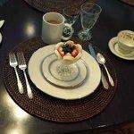 Red White & Blue Breakfast on July 4