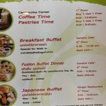 hotel buffet price