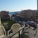View from our balcony :D