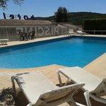 piscine de l'hôtel le Col de l'Ange