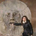la mia mano nella Bocca della Verità - Roma