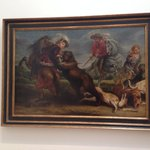 The Bear Hunt by Peter Paul Rubens and Workshop