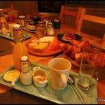 Petit-déjeuner !