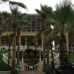 Front view of San Luis Resort