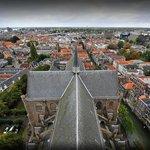 Uitzicht vanaf de Grote Kerk