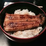 Unagi don at Kiikuya