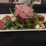 Roasted beet and blood orange salad