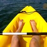 free kayaks!
