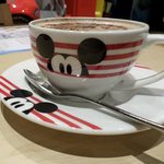 Hot Chocolate at Disney Café by Harrods