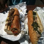 Milano Steak Philly and pork spinach